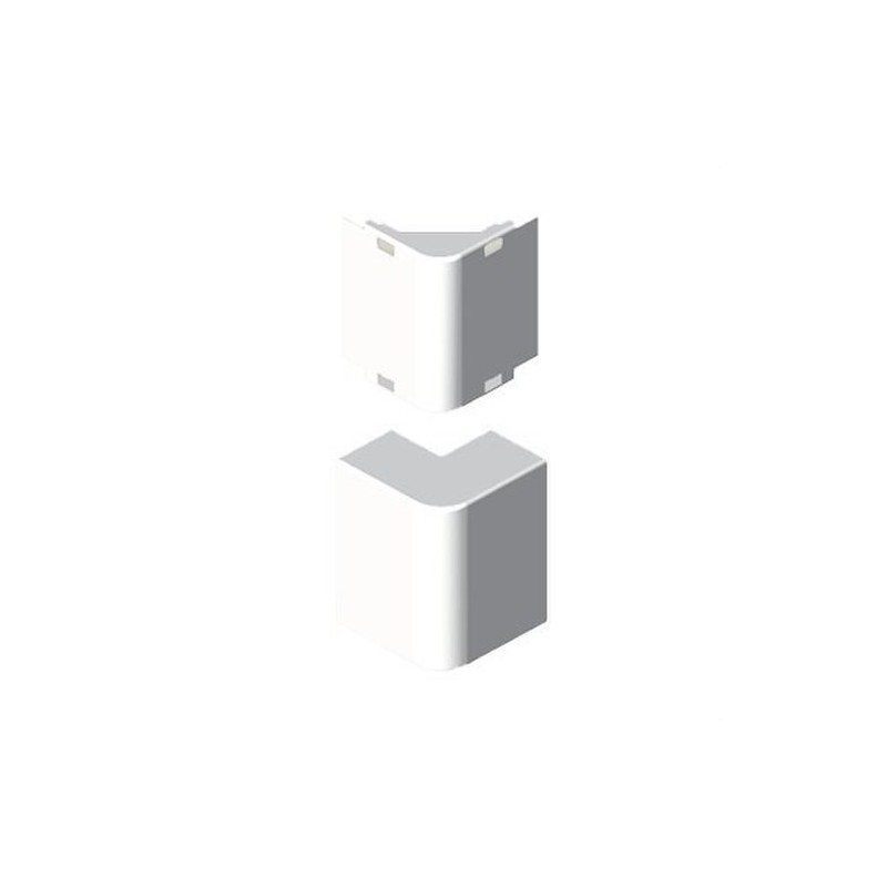 Angulo exterior PVC P/78022/78072 U24X blanco nieve con referencia 78272-2 de la marca UNEX.