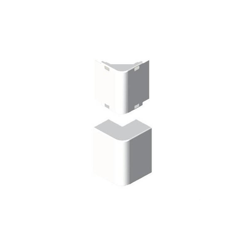 Angulo exterior PVC P/78023/78073 U24X blanco nieve con referencia 78273-2 de la marca UNEX.