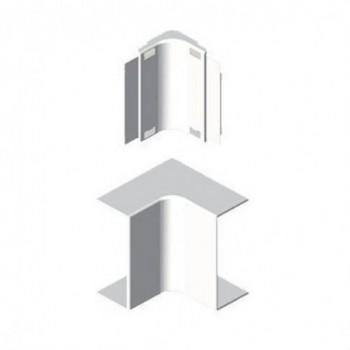 Angulo interior PVC P/78022/78072 U24X blanco nieve con referencia 78322-2 de la marca UNEX.