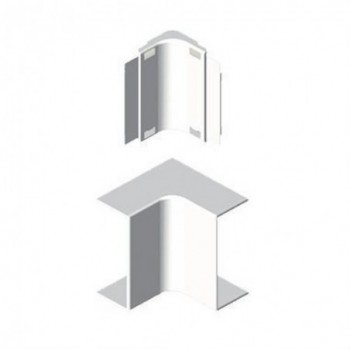 Angulo interior PVC P/78023/78073 U24X blanco nieve con referencia 78323-2 de la marca UNEX.