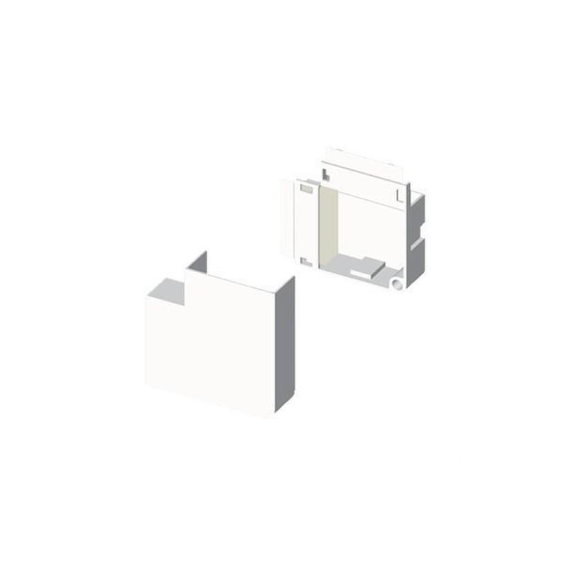 Angulo plano PVC P/78022/78072 U24X blanco nieve con referencia 78222-2 de la marca UNEX.
