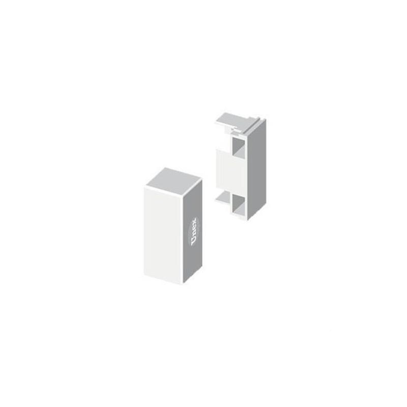 TAPA FINAL PVC PARA 78073 U24X BLANCO NIEVE  con referencia 78373-2 de la marca UNEX.