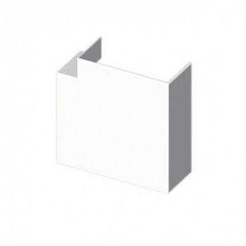 Angulo plano PVC 72/73 Y 70 U24X blanco nieve con referencia 73221-2 de la marca UNEX.