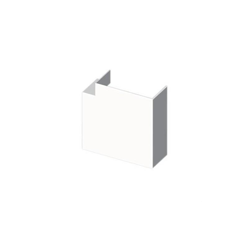 Angulo plano PVC 72/73 Y 70 U24X blanco nieve con referencia 73235-2 de la marca UNEX.