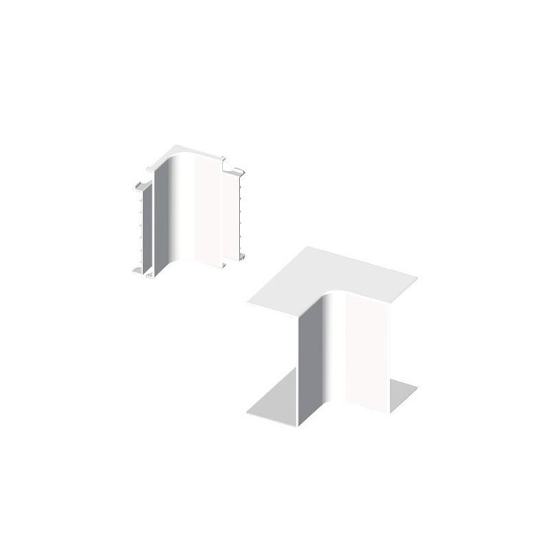 Angulo interior PVC 72/73 PARA 73083 U24X blanco nieve con referencia 73333-2 de la marca UNEX.