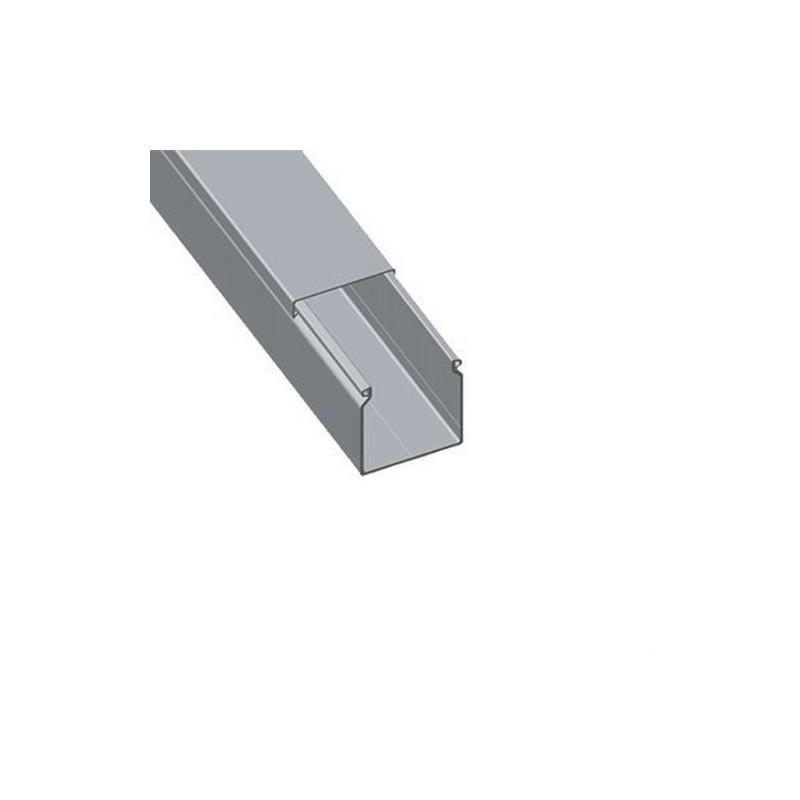 CANAL 07 PVC-M1 U23X 80x80 GRIS con referencia 80.80.07 de la marca UNEX.