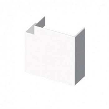 Angulo plano PVC 72/73 Y 70 U24X blanco nieve con referencia 73222-2 de la marca UNEX.