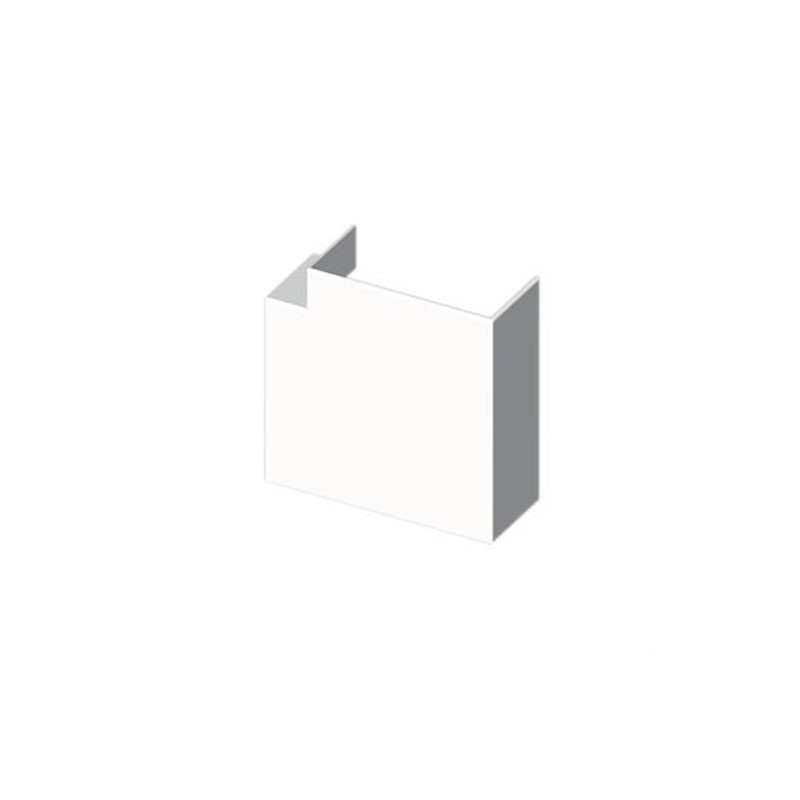 Angulo plano PVC 72/73 PARA 73084 U24X blanco nieve con referencia 73234-2 de la marca UNEX.
