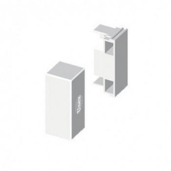TAPA FINAL PVC PARA 78045-95-145 U24X BLANCO  NIEVE  con referencia 78395-2 de la marca UNEX.