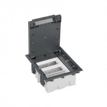 Caja suelo 70mm 3 módulos 500 CIMA gris con referencia 52050003-035 de la marca SIMON.