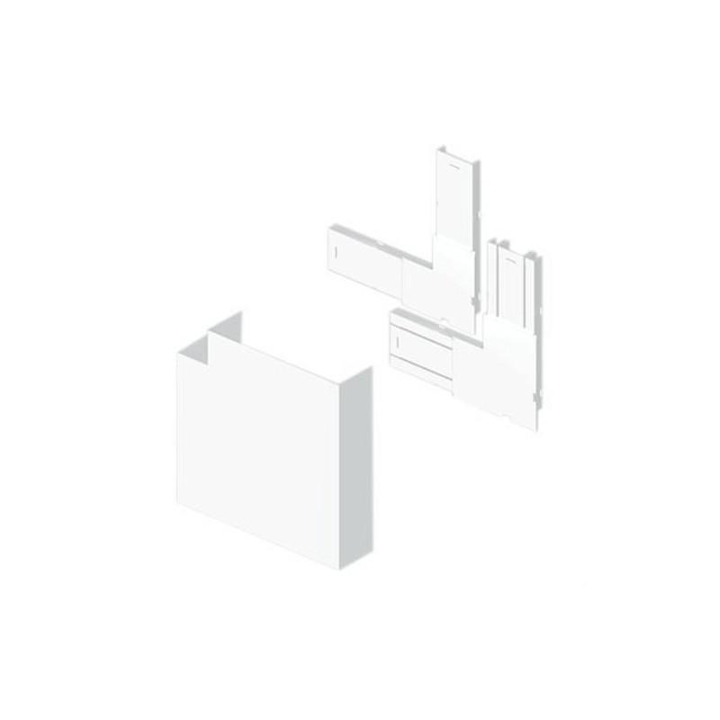 Angulo plano 50x150 U24X blanco nieve con referencia 93224-2 de la marca UNEX.