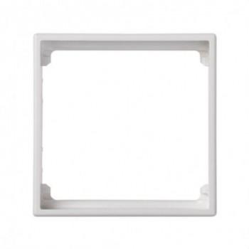 Placa adaptadora individual 500 CIMA Simon 27 blanco con referencia 50010088-030 de la marca SIMON.