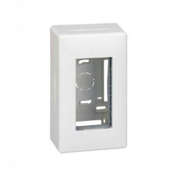 Caja superficie 1 módulo 500 CIMA blanco con referencia 51000001-030 de la marca SIMON.