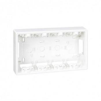 Base caja superficie 500 CIMA para KIT 4 módulos blanco con referencia 51050004-030 de la marca SIMON.