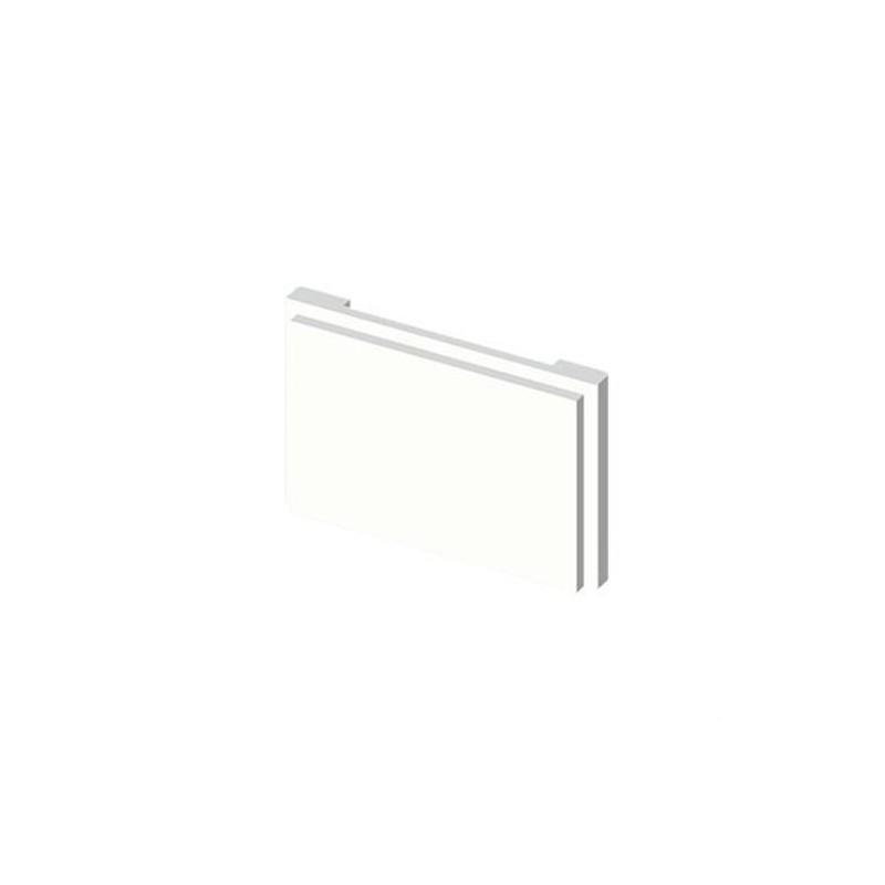 TAPA CAJA MECANISMOS U24X PVC BLANCO NIEVE con referencia 78650-2 de la marca UNEX.