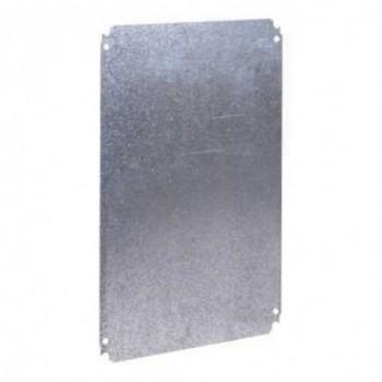 PLACA MONTAJE METALICA 500x400mm  con referencia NSYMM54 de la marca SCHNEIDER ELEC.