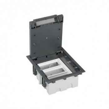 Caja suelo 90mm 3 módulos 500 CIMA gris con referencia 52050103-035 de la marca SIMON.