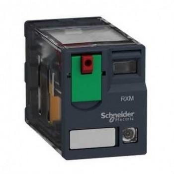 RELE MINIATURA 12A 2NA/NF CON LED 48VCA  con referencia RXM2AB2E7 de la marca SCHNEIDER ELECTRIC.