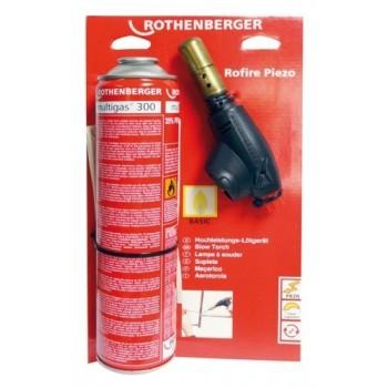"""SOPLETE ROFIRE PIEZO MULTIGAS 300 7/16""""  con referencia 35429 de la marca ROTHENBERGER."""