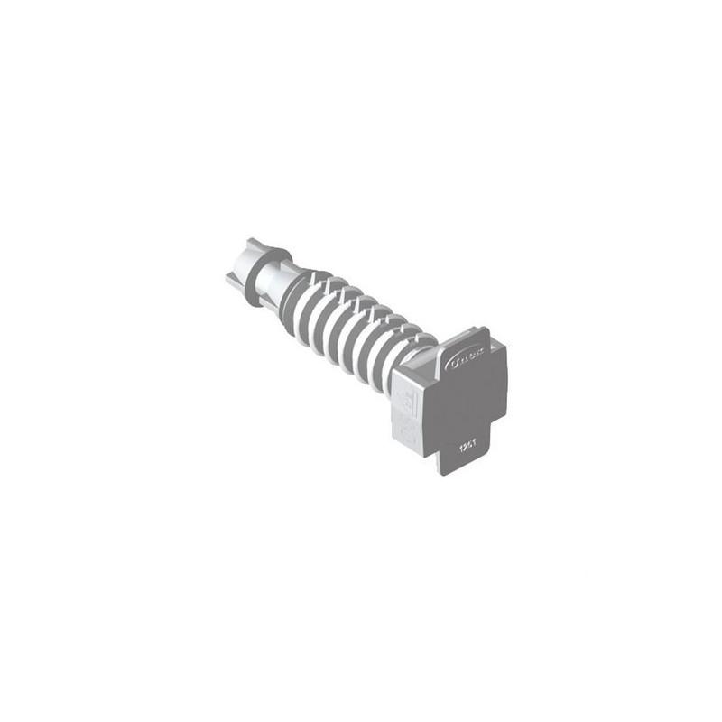 TACO PRESION U63X DIAMETRO 6mm POLIAMIDA 6 GRIS con referencia 1253-3 de la marca UNEX.