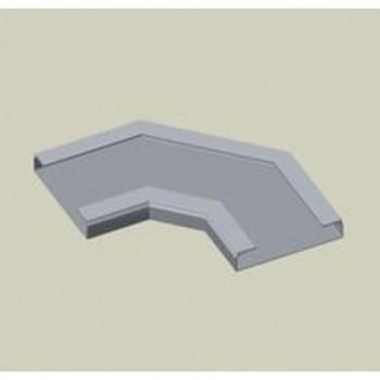 ESQUINA LISA PVC-M1 PARA 66421 U23X GRIS con referencia 66437 de la marca UNEX.