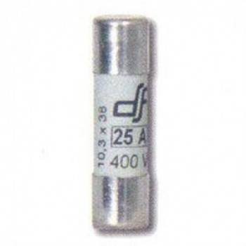 FUSIBLE UTE 20A 10x38 gl-gG T-0 500V SIN INDICADOR  con referencia 420020 de la marca DF.