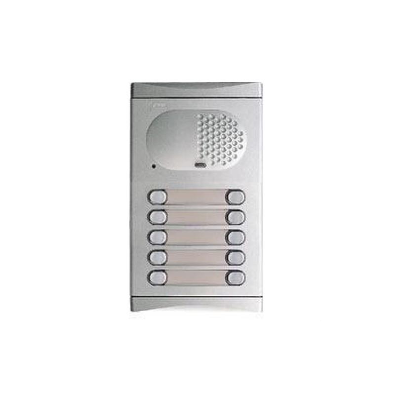 Módulo 10 pulsadores audio con referencia 11282210 de la marca GOLMAR.