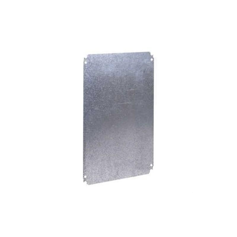 PLACA MONTAJE METALICA 600x400mm  con referencia NSYMM64 de la marca SCHNEIDER ELEC.