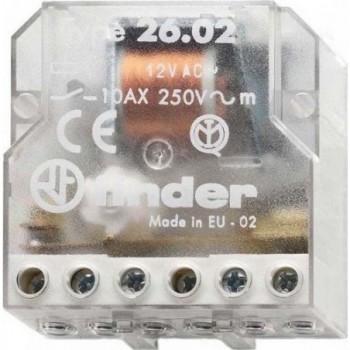 RELE ENCASTRADO DESVIACION 4 SECTOR 230VAC  con referencia 260882300000 de la marca FINDER.
