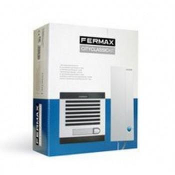 KIT PORTERO CITYMAX 1L AGUAMAR 230V TEL/BLANCO  con referencia 6201 de la marca FERMAX.