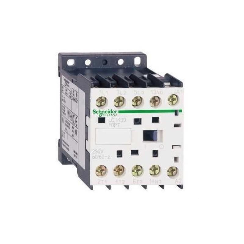 MINICONTACTOR 6A 3 POLOS 110V CORRIENTE ALTERNA 50/60Hz  con referencia LC1K0610F7 de la marca SCHNEIDER ELEC.