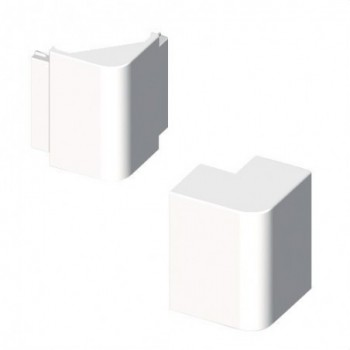 Angulo exterior PVC 72/73 Y 70 U24X blanco nieve con referencia 73286-2 de la marca UNEX.