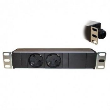 """REGLETA PDU ELECTRICA 2 TOMA 10""""  con referencia 26005 de la marca OPENET ICS."""