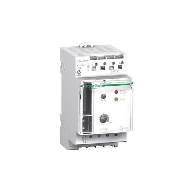 INTERRUPTOR CREPUSCULAR IC2000 2-35LUX PANEL con referencia CCT15284 de la marca SCHNEIDER ELEC.