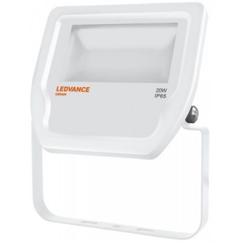 LUMINARIA FLOODLIGHT LED 20W 3000K BLANCO con referencia 4058075001084 de la marca LEDVANCE.