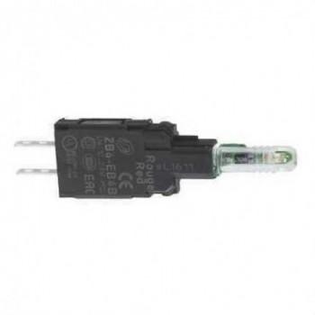 CUERPO PILOTO DIAMETRO 16 12-24V VERDE LED INTEGRADO con referencia ZB6EB3B de la marca SCHNEIDER ELEC.
