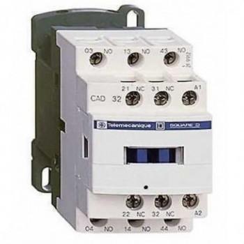 CONTACTOR AUXILIAR 3NA/2NC 48V 50/60HZ  con referencia CAD32E7 de la marca SCHNEIDER ELEC.