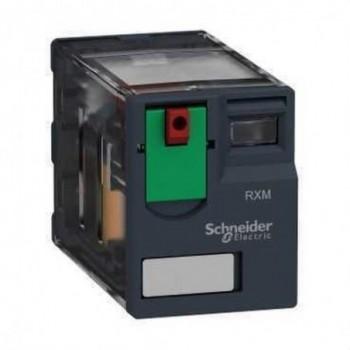 RELE MINIATURA 12A 2NA/NF 230VCA  con referencia RXM2AB1P7 de la marca SCHNEIDER ELEC.