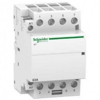 CONTACTOR ICT 63A 4NA 230/240V CORRIENTE ALTERNA  con referencia A9C20864 de la marca SCHNEIDER ELEC.
