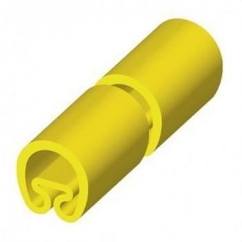 MANGUITO PVC PLASTICO PARA DIAMETRO 4-8 25mm AMARILLO con referencia 1852-M de la marca UNEX.