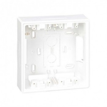 Base caja superficie 500 CIMA para KIT 2 módulos blanco con referencia 51050002-030 de la marca SIMON.