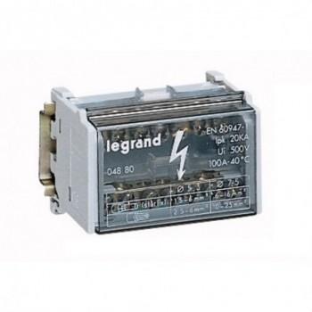 REPARTIDOR BIPOLAR 100A LEXIC con referencia 004880 de la marca LEGRAND.
