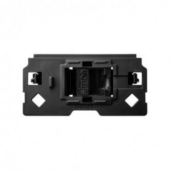 Adaptador Simon 100 para 1 conector RJ45 con referencia 10000001-039 de la marca SIMON.