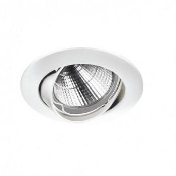 Empotrable circular NIX LC QPAR16 50W GZ10 blanco con referencia 780E-G42X1B-01 de la marca INDELUZ.