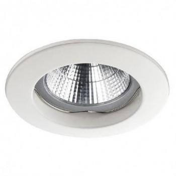 Empotrable fijo circular NIX LC QPAR16 50W GZ10 blanco con referencia 780A-G42X1B-01 de la marca INDELUZ.