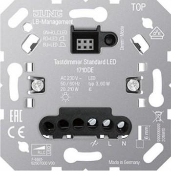 Dimmer sensor estándar para led con referencia 1710DE de la marca JUNG.