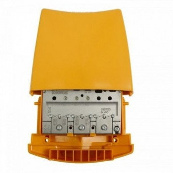 Amplificador de mástil 24V 3E/1S FM-B3/DAB-U G42 Vs116 con referencia 535720 de la marca TELEVES.
