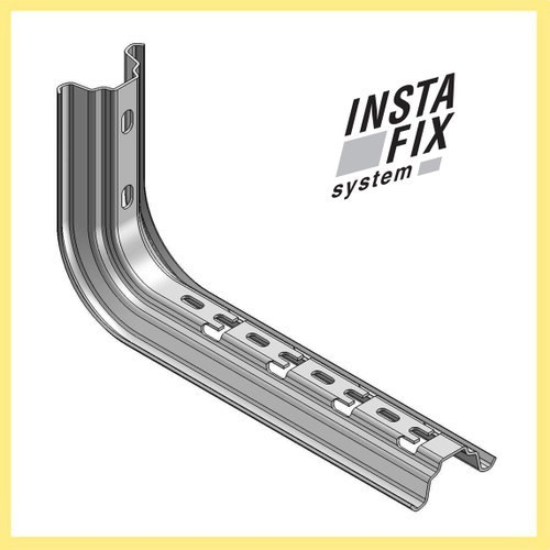 Soporte OMEGA para pared/perfil colgante 100mm sendzimir - INTERFLEX